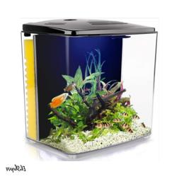 1.4 Gallon Betta Aquarium Starter Kits, Fish Tank with LED L