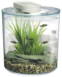 MARINA 360 AQUARIUM KIT FISH TANK 2.65 GALLONS 10 LITRES + L
