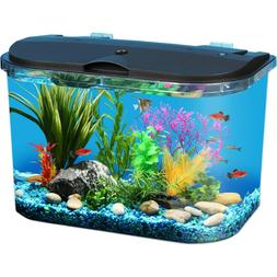 5-Gallon Panaview Aquarium Kit with LED Lighting and Power F