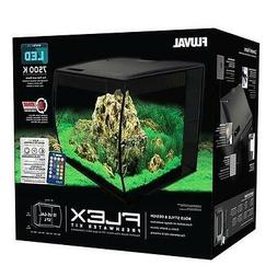 FLUVAL - FLEX 57L 15 GALLON BLACK AQUARIUM KIT