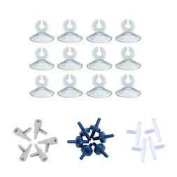 Airline Tubing Control Kit Suction Cups +Tee's +Control Valv