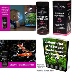 Jnw Direct Aquarium Test Strips 7 In 1 Best Kit For Accurate