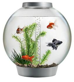 biOrb CLASSIC 15 Aquarium with LED Light – 4 Gallon, Silve
