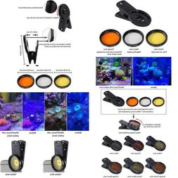 coral lens filter kits for phone