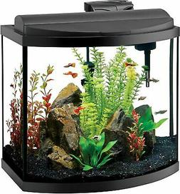 deluxe bow front aquarium kit