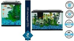 Fish Tank LED Light Aquarium Starter Kit 5-Gallon Aqua Pet E