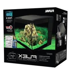 Fluval FLEX 15-Gallon Aquarium Kit, Black