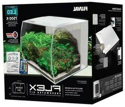 Fluval Flex LED Freshwater Kit White 9 Gallon