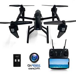 FPV Drone with Camera Live Video 1080P HD for Adults Beginne