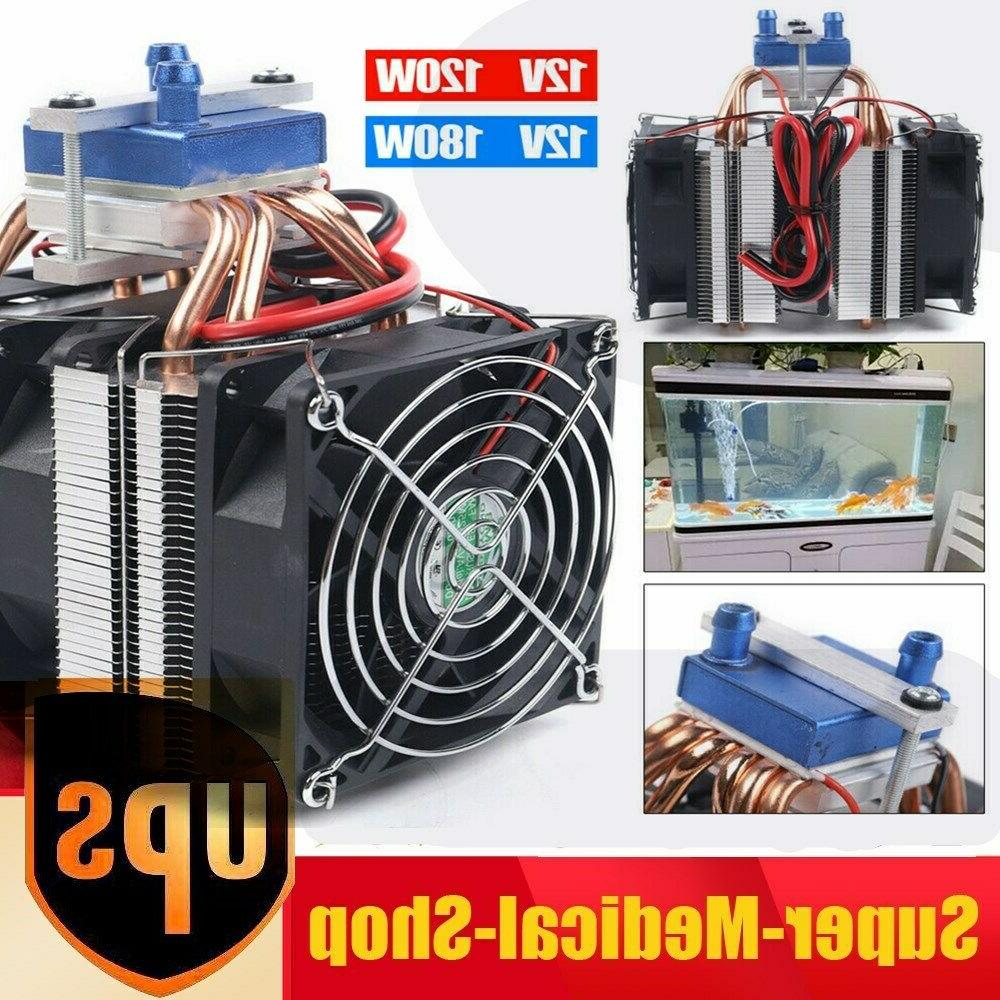 12v fish tank thermoelectric refrigeration cooling system