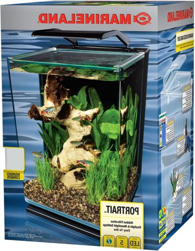 5 Gallon,MarineLand Portrait Glass LED