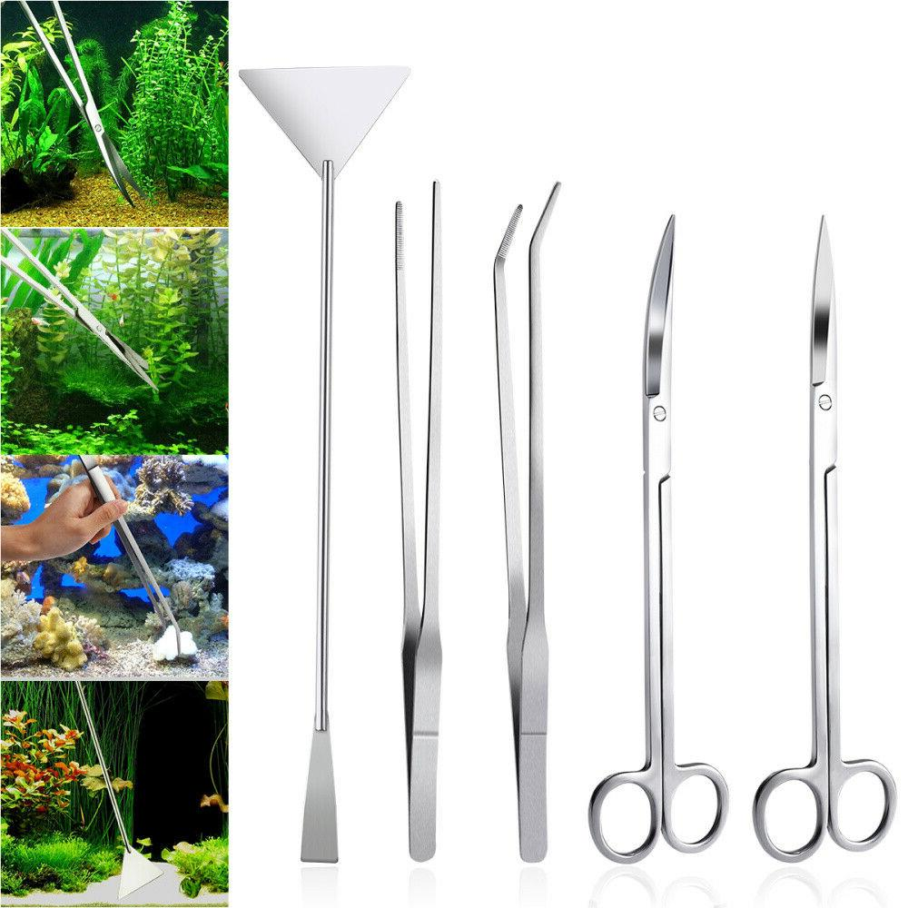5 4 3pcs aquarium tools kit aquascaping