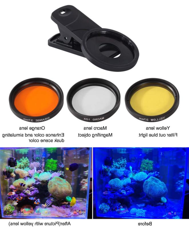 aquarium choice coral lens filter kits