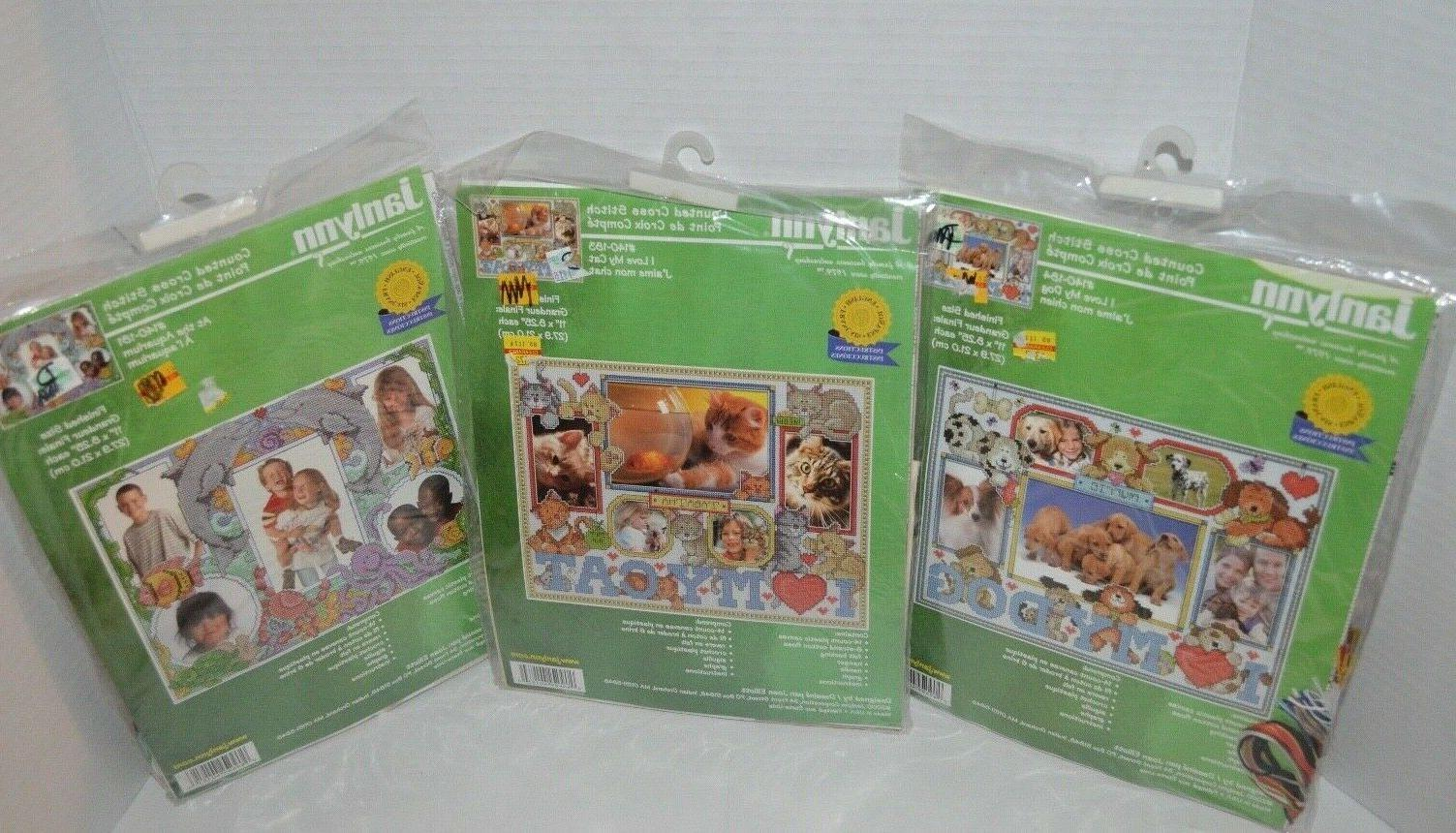 vintage counted cross stitch kits i love