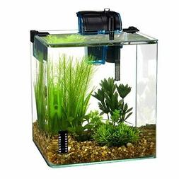 Penn Plax Vertex 5 Gallon Desktop Tank Kit. **Free Shipping*