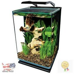 Marineland Portrait Glass LED aquarium Kit, 5 Gallons, Hidde