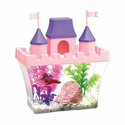 Aqueon Princess Castle Aquarium Kit, 8.2 x 4.8 x 8.5